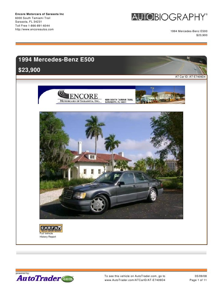 500 E Sarasota Brochure