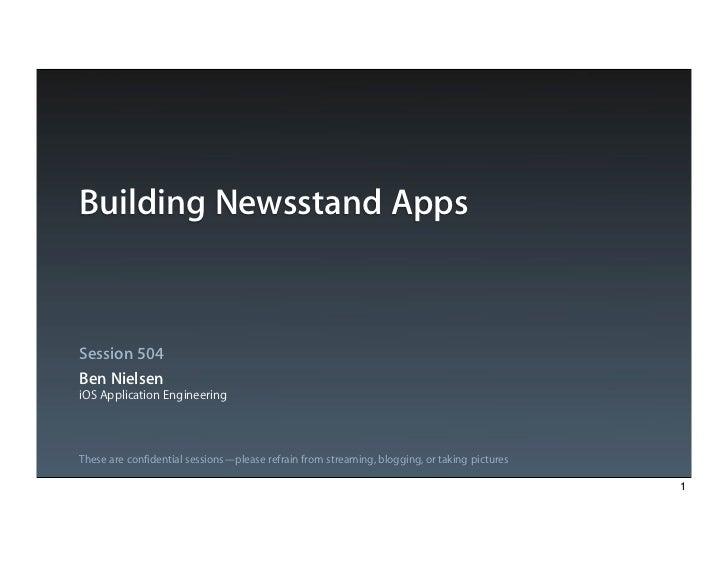 Building newsstand_apps