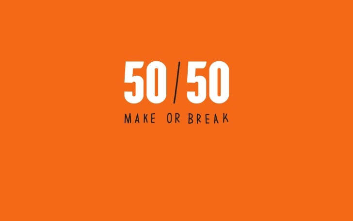50/50 projects overview
