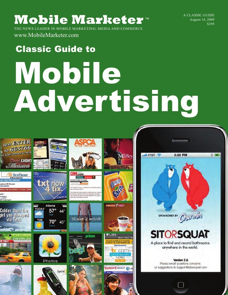 Classic Guide to Mobile Advertising