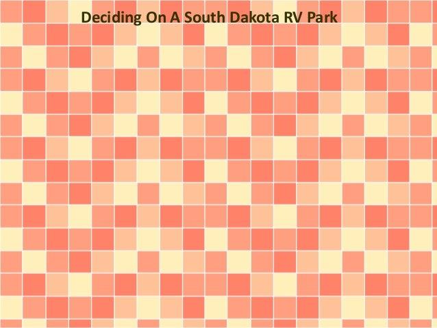 Deciding On A South Dakota RV Park