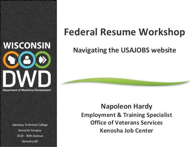 napoleon fed resume workshop