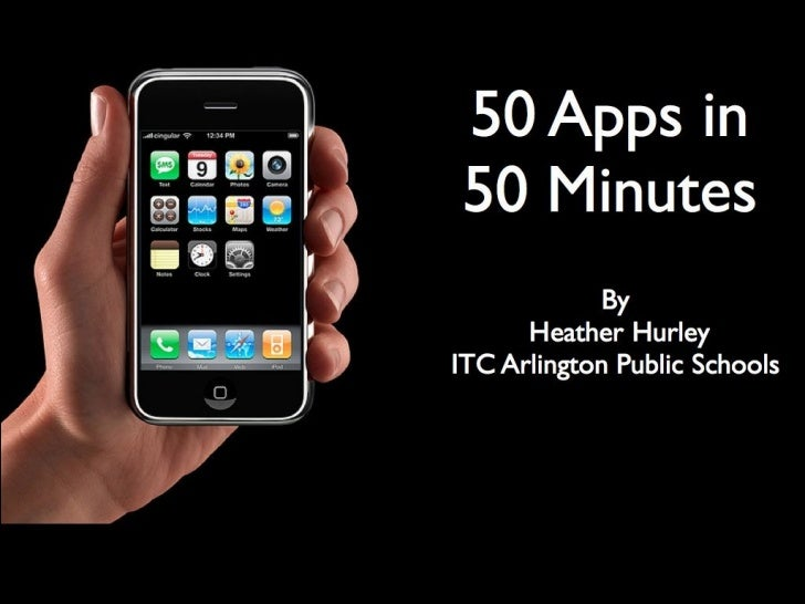 50 Apps in 50 Minutes