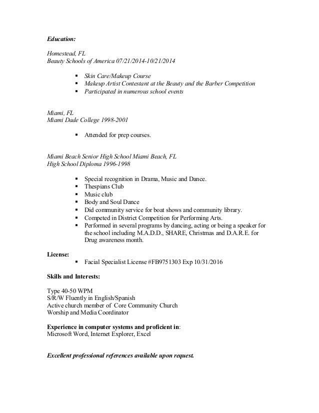 Present Tense Resume. present past tense current job resume ...