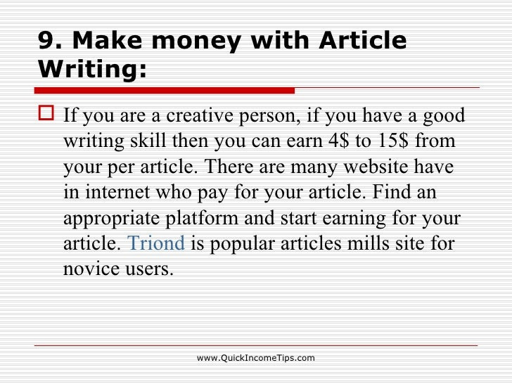 article writing companies
