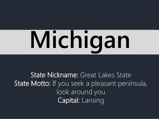 Mottos, Michigan and US states on Pinterest