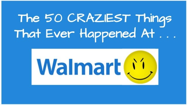 The 50 CRAZIEST Things That Ever Happened At . . .