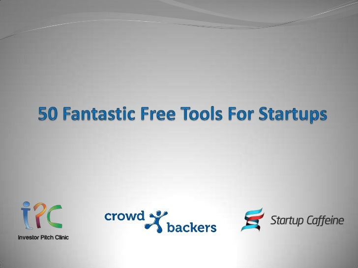 Because Startups Deserve Great ToolsThe right tools can make a huge difference to your ability to run your startup and lif...