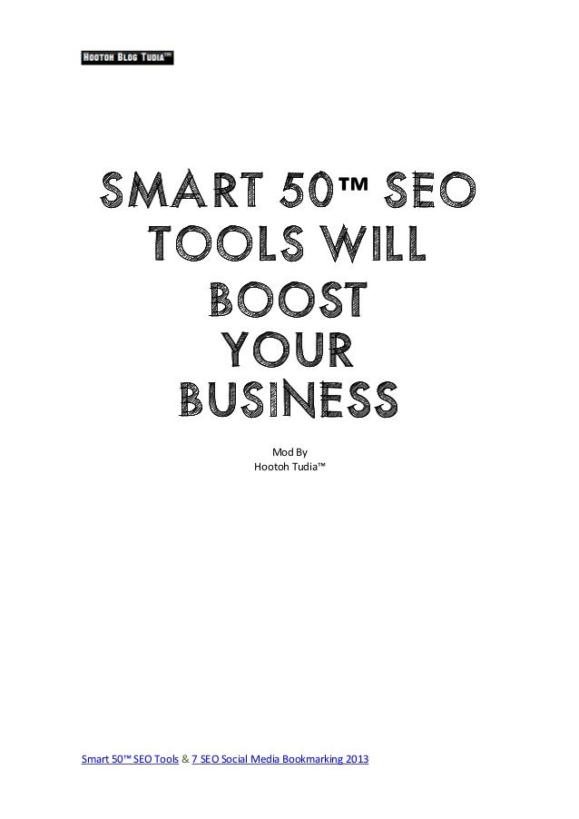 Smart 50 SEO Tools Will Boost your Business