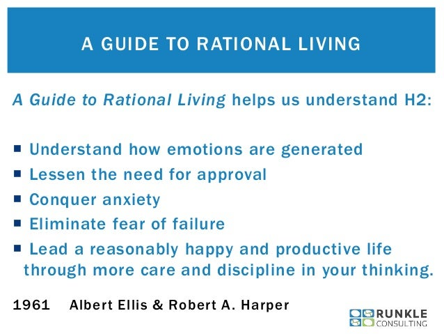 How to Be a Rational, Happy, Productive Human Being