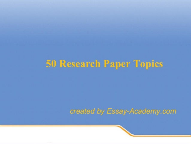 topics for literature research papers