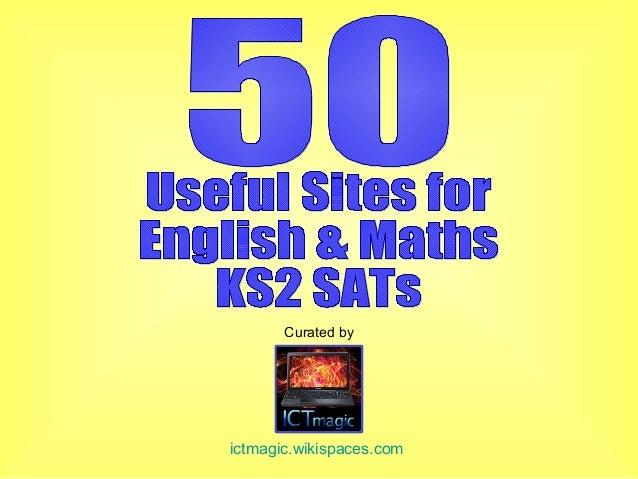 50 useful sites for English & Maths KS2 SATs