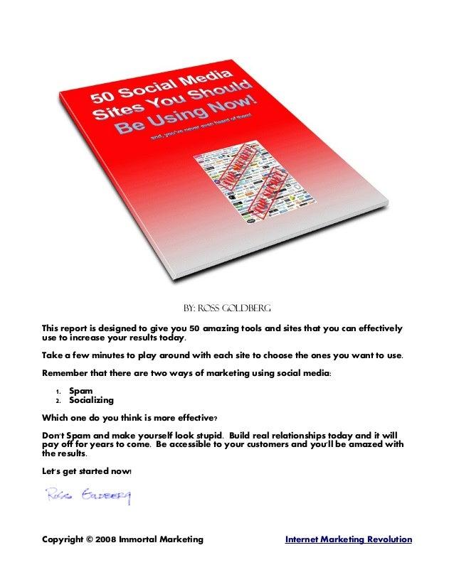 50socialwebsites
