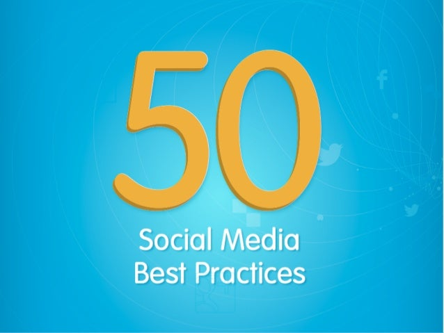 Ebook: 50 Social Media Best Practices
