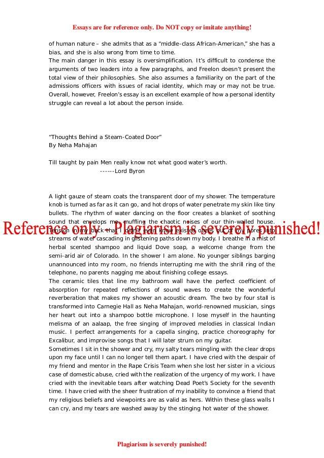 Writing college admission essays 50 successful