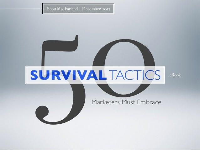 50 Survival Tactics Marketers Must Embrace