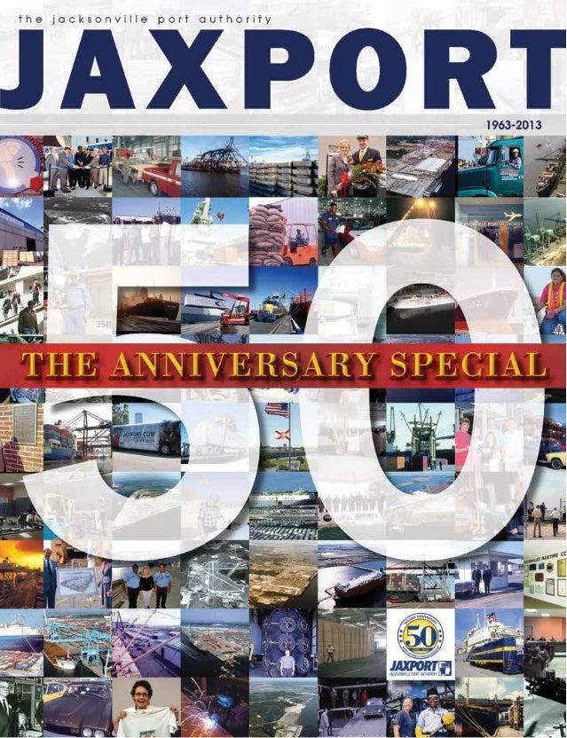 JAXPORT's 50th Anniversary publication