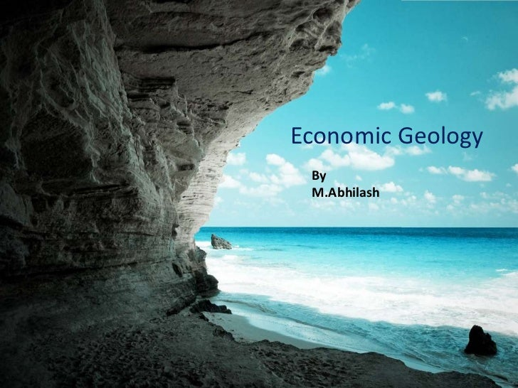 Economic Geology By M.Abhilash