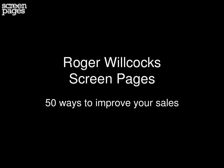 50 ways to improve your online sales