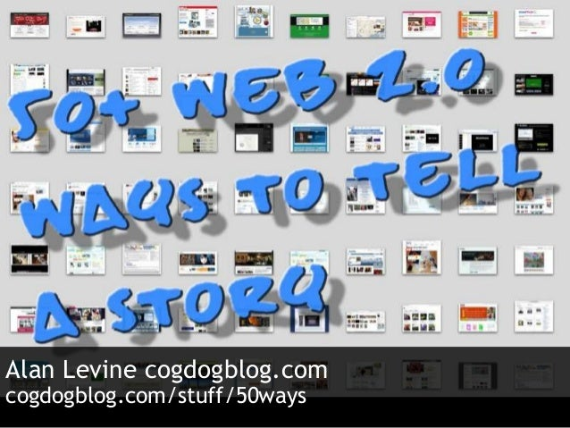 50 Web Ways to Tell a Story Skidmore College
