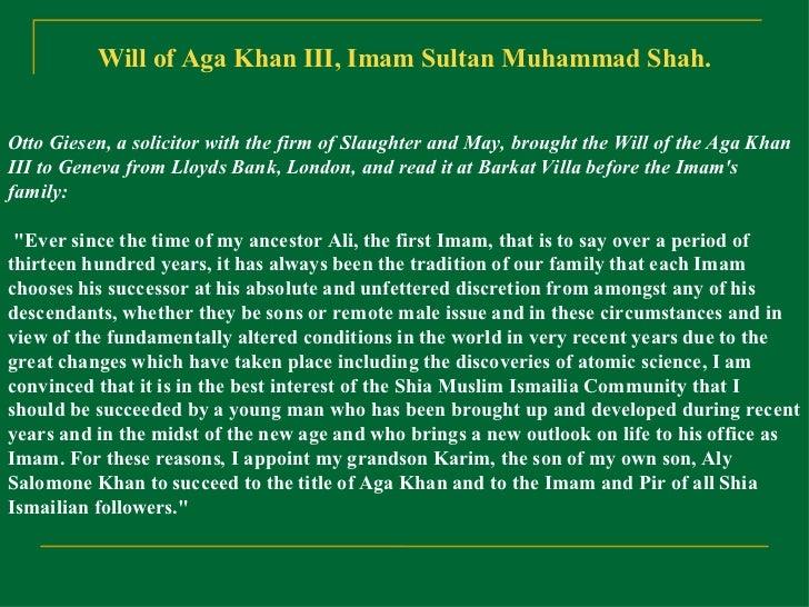 50yrs Of Aga Khan