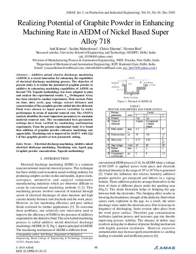 AMAE Int. J. on Production and Industrial Engineering, Vol. 01, No. 01, Dec 2010 © 2010 AMAE DOI: 01.IJPIE.01.01.51 48 Rea...