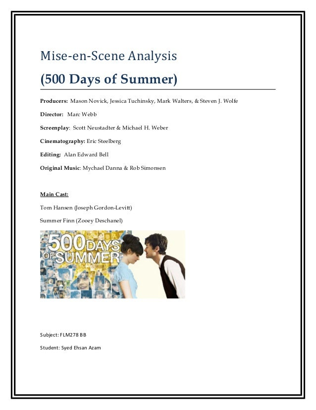 500 days of summer mise en (500) days of summer soundtrack, find all 66 songs from the (500) days of summer (2009) movie music soundtrack, with scene descriptions listen to and download the music, ost, score, list of.