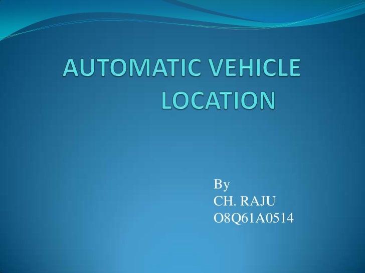 automatic vehicle location