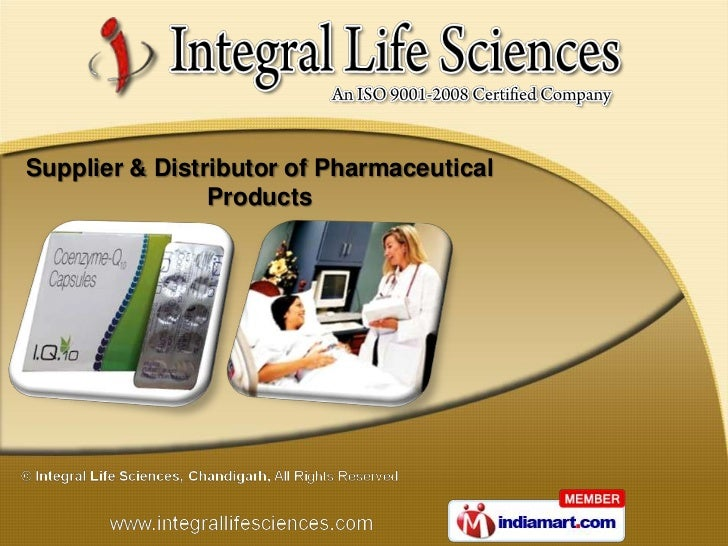 Supplier & Distributor of Pharmaceutical                Products