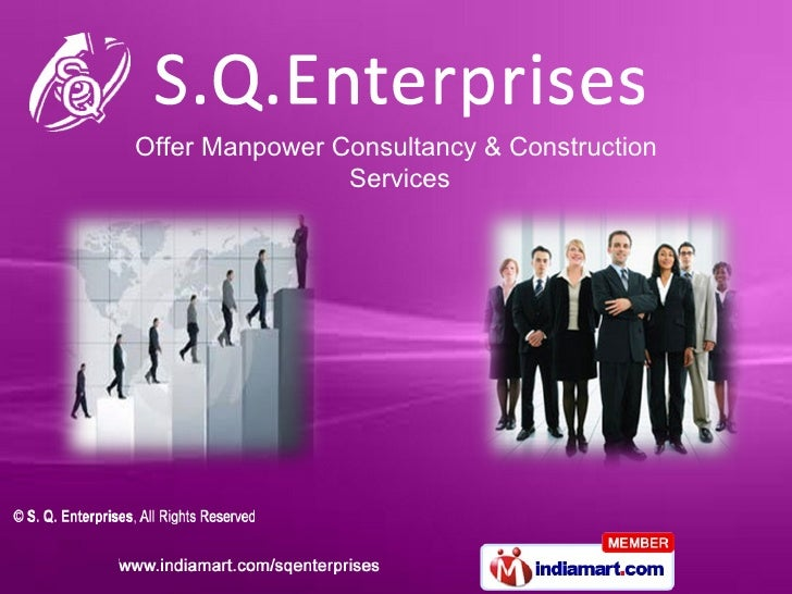Offer Manpower Consultancy & Construction                Services