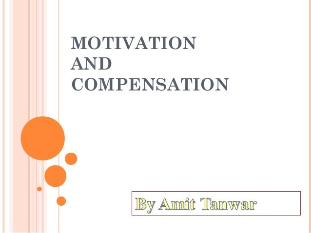 motivation-and compensation