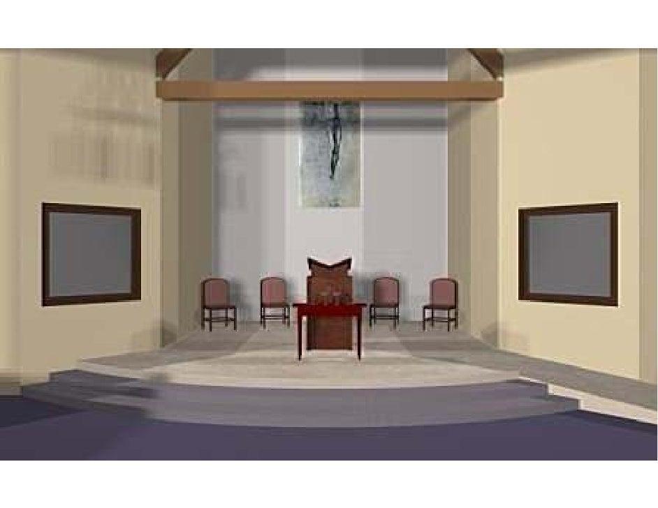 St Columbia Church-Lecturn Closer