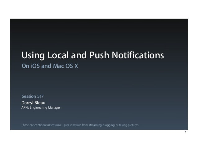 Get step-by-step instructions on implementing notifications in your apps.