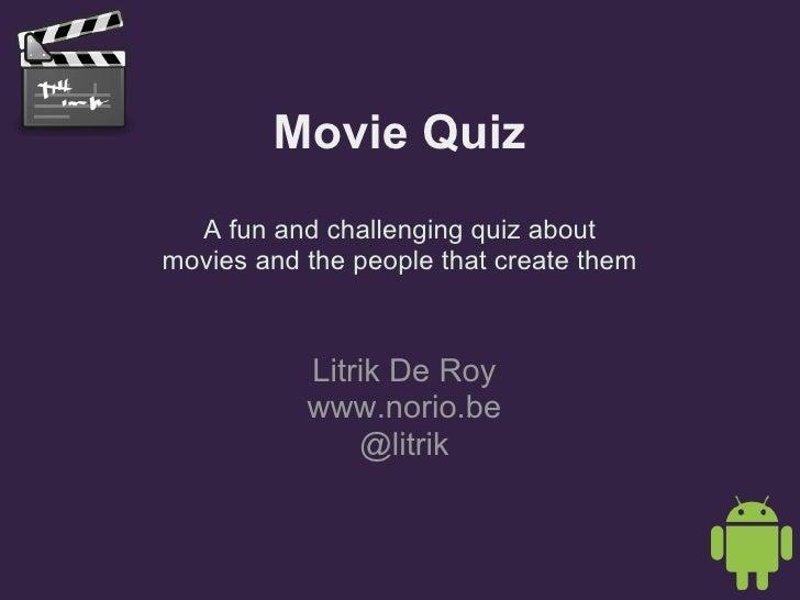 Movie Quiz Beta