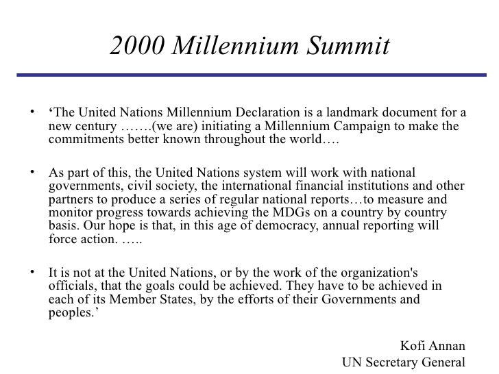 essay on new millenniums goals and hopes Although our calculation of time's passage in years and centuries carries no more weight against the vastness of the cosmic process than a feather before a storm, still, being human, it is natural for us to nurture hope on reaching the threshold of a new millennium.