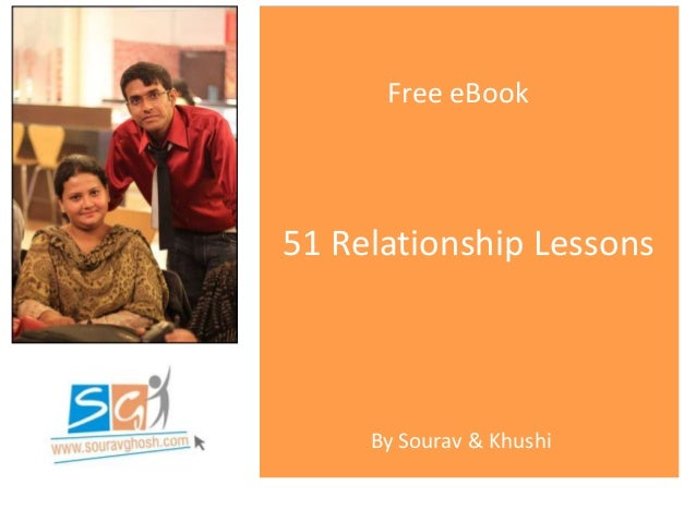 51 Relationship Lessons Free eBook By Sourav & Khushi