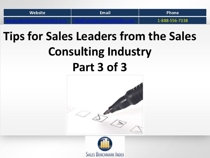 51 Tips For Sales Leaders Part 3