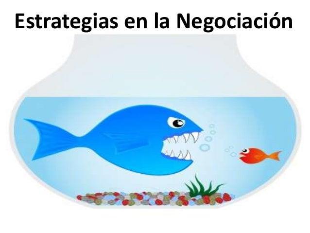 Estrategias en la Negociación