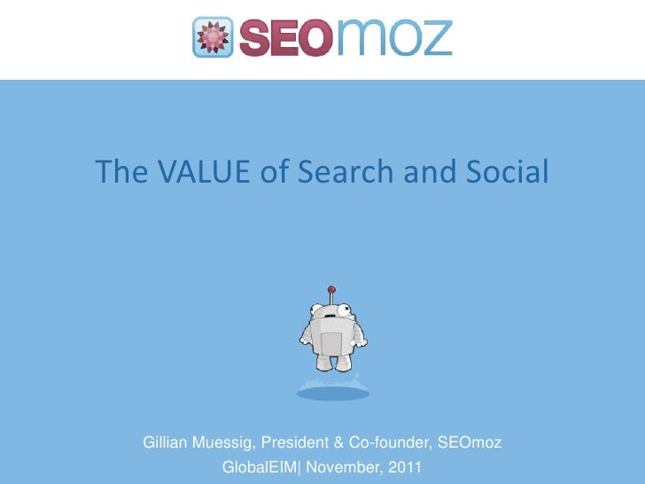 Увеличение конверсии (in English) (The VALUE of Search and Social)