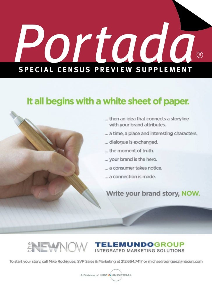 Special census Preview Suplement, by Portada