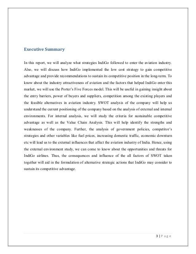 Strategic management term paper