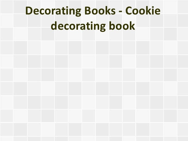 Decorating Books - Cookie decorating book