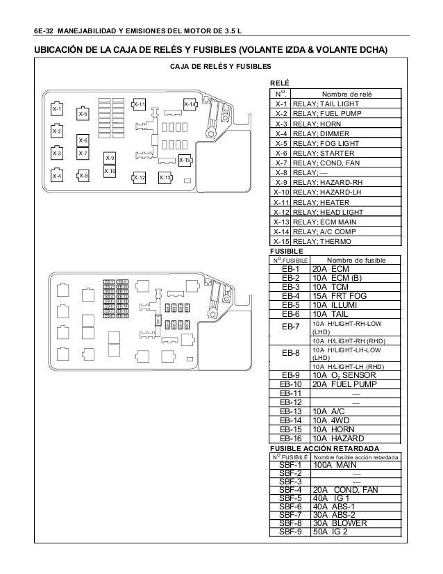 Isuzu D Max 2010 Wiring Diagram : Manual dmax ebd ve