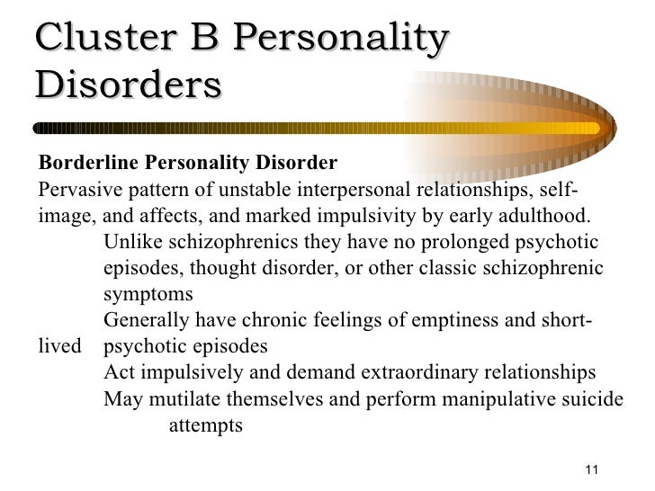 a brief look at the causes and manifestation of borderline personality disorder Personal stories a brief look at my life with borderline personality disorder my name was stated here originally.