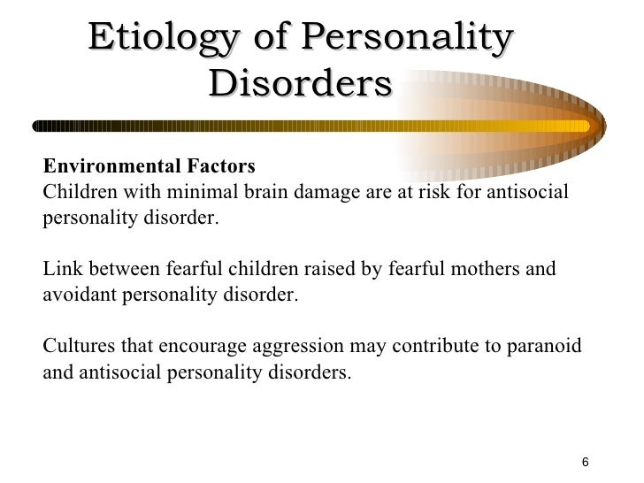 the causes and manifestation of anti social personality disorder Antisocial personality disorder is not just about not liking other people it's a defined social disorder with both biological and environmental roots that can cause massive havoc in a person's life, from repeated incarcerations to seeking out death-.