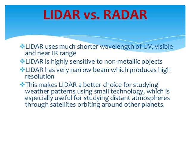 lidar light detection and ranging technology Light detection and ranging (lidar) is the apex of mapping technology  discover the origins, operational mechanics, and innovative uses of this growing .