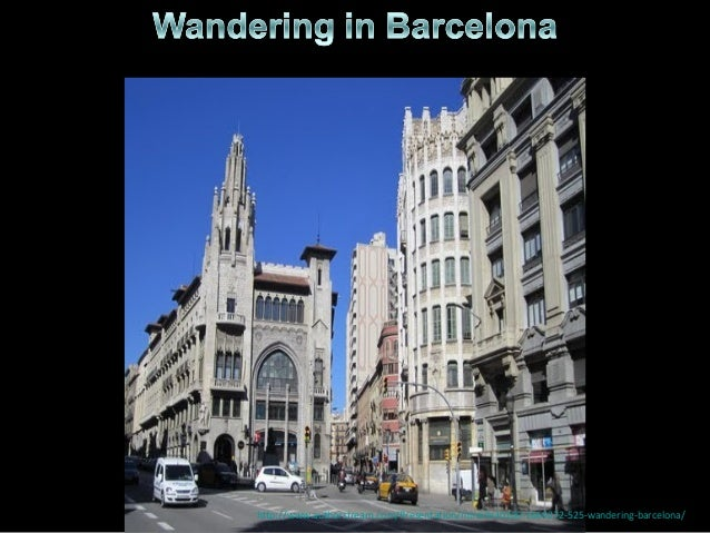 525 - Wandering in  Barcelona