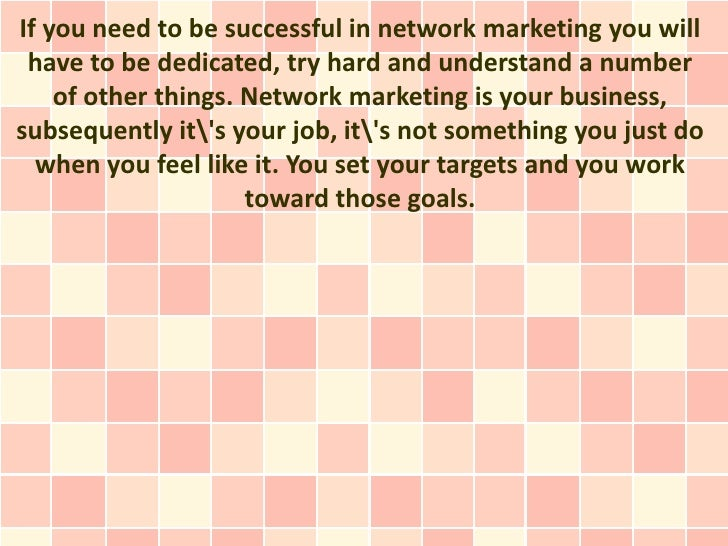 There Is No Magic Potion for Being Successful In Network Marketing