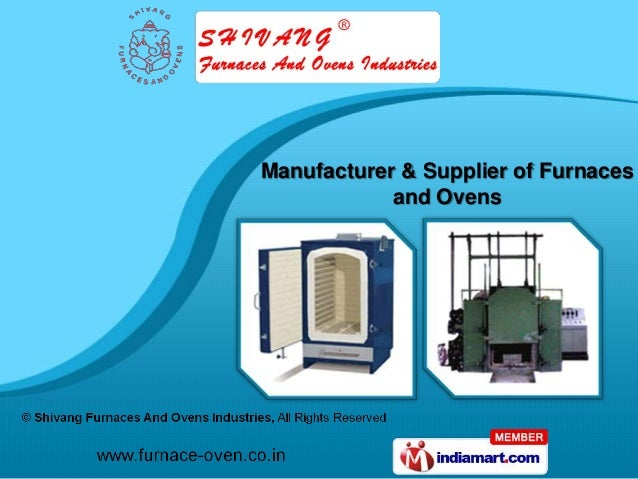 Shivang Furnaces And Ovens Industries, Gujarat India