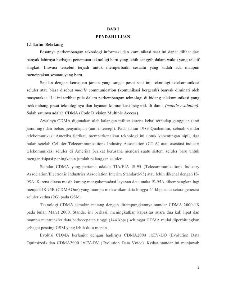 BAB I                                      PENDAHULUAN1.1 Latar Belakang       Pesatnya perkembangan teknologi informasi d...